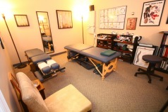 Dr. Martin's treatment room.