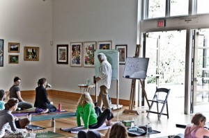 Dr. Martin teaches meditation at Namas Day 2012.