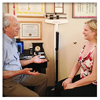 dr martin and client in counseling session